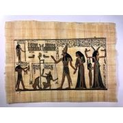 Papiro Egípcio original com temas Faraônicos – Ref.92