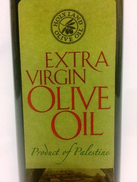 Azeite de Oliva Extra Virgem da Palestina. 500ml - PRODUTO SOLIDÁRIO (Ref.907)