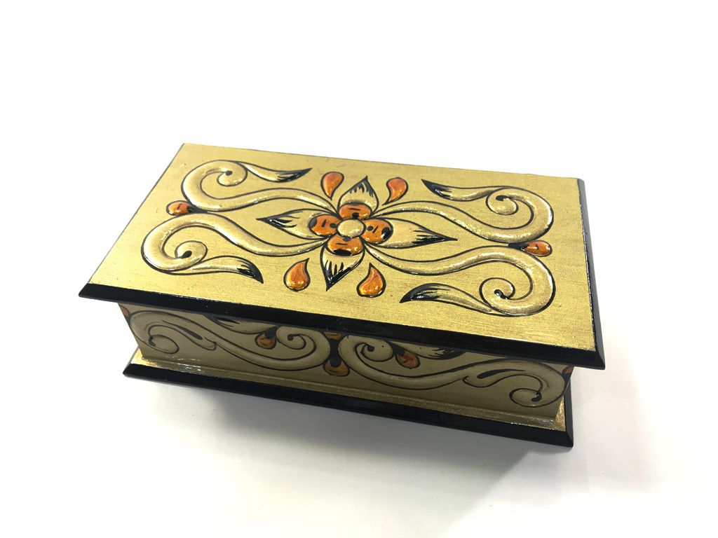 Caixa porta jóias arabesco