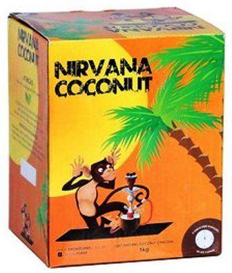 Carvão de Coco para Narguile Nirvana Coconut - 1Kg