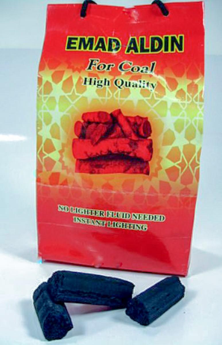 Carvão natural tipo triângulo para Narguile (1kg) - PROMOÇÃO!