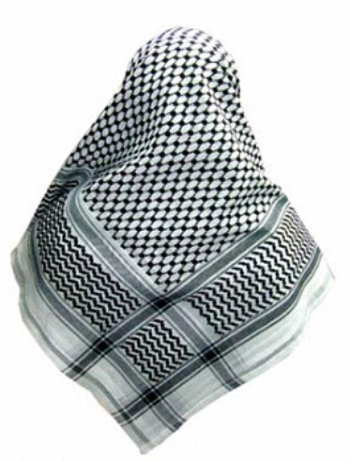 Lenço Árabe Palestino, Kafieh, Shemagh  original com alta textura