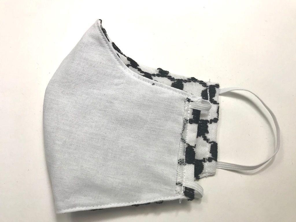Máscara de tecido lavável 3 camadas alta proteção de keffiyeh lenço árabe palestino