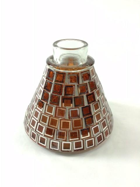 Narguile Petit Plus, com exclusiva base revestida com pastilhas de vidro (Amarelo) cod.93
