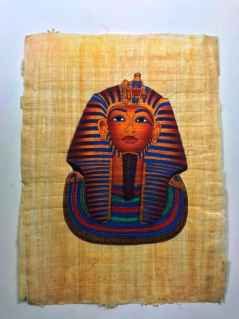 Papiro Egípcio original com temas Faraônicos – Ref.61
