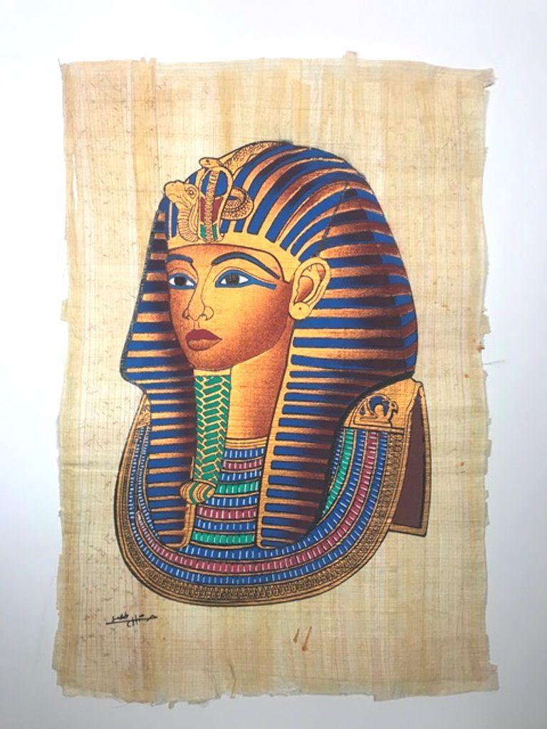 Papiro Egípcio original com temas Faraônicos – Ref.64