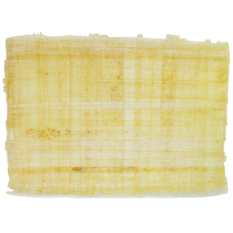 Papiro Egípcio original cru,  virgem, natural, tamanho 45x35 cm  Ref.100