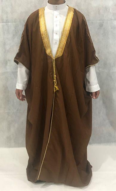 Roupa árabe masculina, Capa, Manto, Bishit. Ref.74