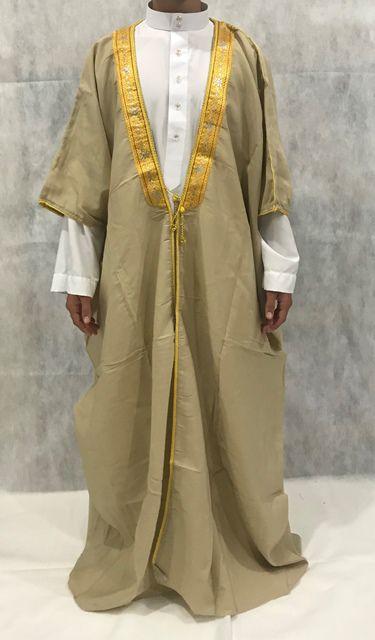 Roupa árabe masculina, Capa, Manto, Bishit. Ref.75
