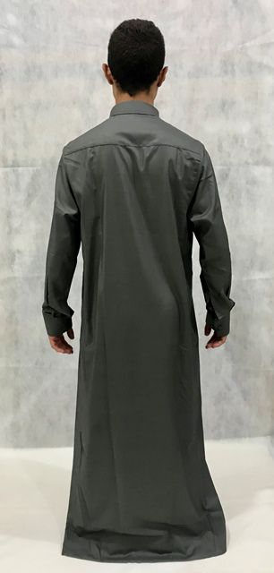 Roupa árabe masculina, Dishdasha, Thobe, Jubba. Ref 66