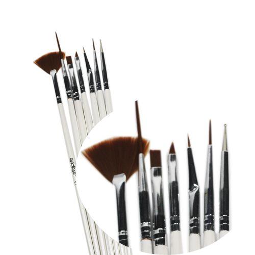 Kit Pincel para unhas artísticas W706 - Macrilan