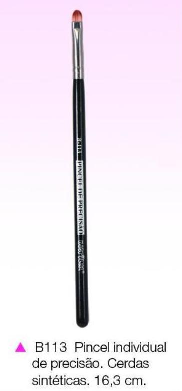 Pincel Macrilan B113 de Precisão para Sombra - Maquiagem Profissional Macrilan B113