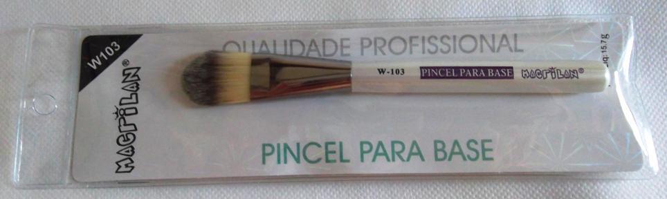 Pincel Macrilan para Base W103 - Macrilan Qualidade Profissional