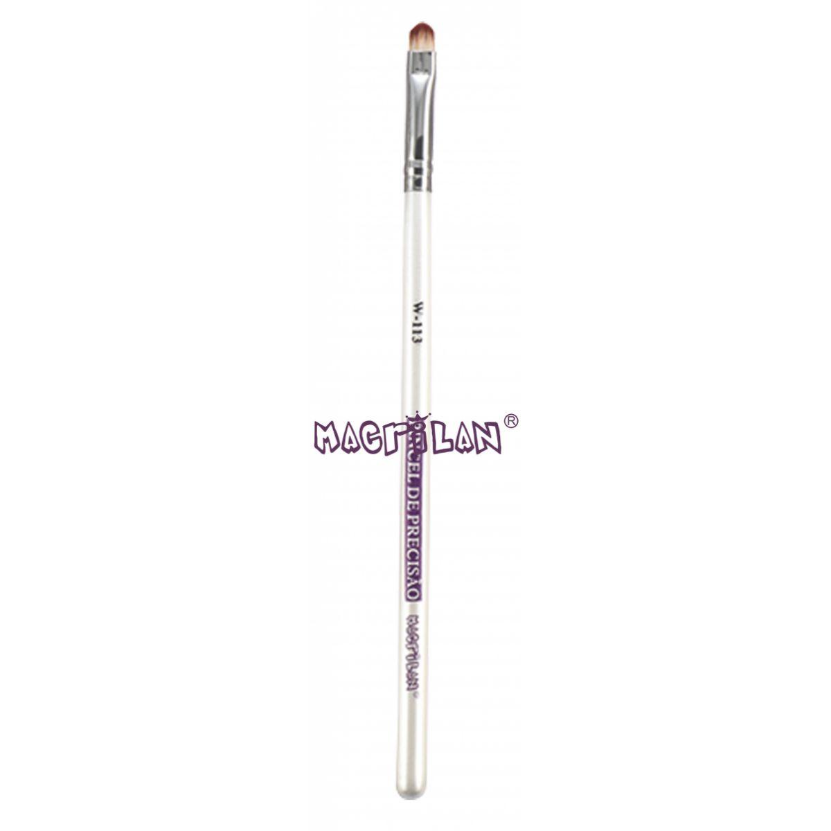 Pincel Macrilan W113 de Precisão para Sombra - Maquiagem Profissional Macrilan W113