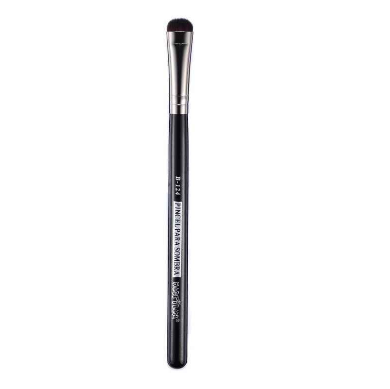 Pincel Profissional Macrilan para Sombra B124 - Maquiagem Profissional
