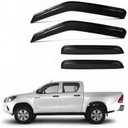 Calha Defletor De Chuva Toyota Hilux 2015 - 2020