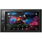 Central Multimídia 2 DIN Pioneer MVHA218BT - Espelhamento Android  - Bluetooth - Entrada USB + CAMERA DE RÉ