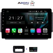 Central Multimidia Aikon Atom  Honda HRV 2016 / 2020  Tela 9 Polegadas - TV Digital  - GPS Bluetooth MP3 USB - 2 Câmera de Ré + Frontal - Sistema Android 9.0