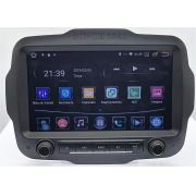 Central Multimidia Jeep Renegade PCD S800 - Android 8.1 Tela 9 Polegadas - GPS Mapa Bluetooth MP3 USB Ipod SD TV Digital Câmera de Ré - Sistema Android 6.0
