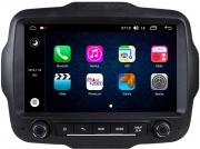 Central Multimidia Aikon Jeep RENEGADE - X2  Tela 9 Polegadas - GPS  Bluetooth - 2 entradas USB  TV Digital FULLHD - 2 cameras ré + frontal - Sistema Android 8.1