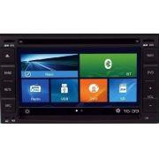 Central Multimídia Chevrolet Cobalt / Onix / Spin LT LS 2013 á 2017 Com DVD GPS Mapa Bluetooth MP3 USB Ipod SD Card Câmera Ré Grátis