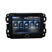 Central Multimidia Fiat Toro -  Com DVD GPS Mapa Bluetooth MP3 USB Ipod SD Card Câmera de Ré Grátis - M1