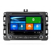 Central Multimidia Fiat Toro - Jeep Renegade  Com DVD GPS Mapa Bluetooth MP3 USB Ipod SD Card Câmera de Ré Grátis s90