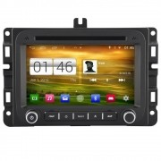 Central Multimidia Fiat Toro - Jeep Renegade  S160 - Plataforma Android Com DVD GPS Mapa Bluetooth MP3 USB Ipod SD Card Câmera de Ré Grátis