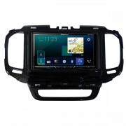 Central Multimidia Fiat Toro - Pioneer AVH-A4180TV + Interface de Volante + Moldura 2 Din -  Com DVD GPS Wase Mapa Bluetooth MP3 USB Ipod SD Card Câmera de Ré Grátis
