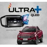Central Multimidia Fiat Toro Winca Winca ULTRA+ tela 9 polegadas QLED LCD SCREEN Processados Octacore 32Bg CarPlay, 2 Cameras Ré e Frontal, Waze, Youtube - Android 10.0