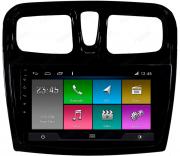 Central Multimidia Ford Renault Sandero Logan 2019/2020 -  Aikon ATOM X9 - Tela 9 pol - Waze Spotify - 2 cameras Ré + Frontal - TV  Digital - GPS Integrado -  Bluetooth - 2 entradas USB - Android 8.1