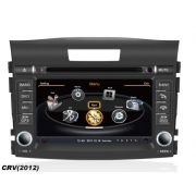 Central Multimídia Honda CRV 2012 2013 2014 2015 Com DVD GPS Mapa Bluetooth MP3 USB Ipod SD Card Câmera Ré Grátis