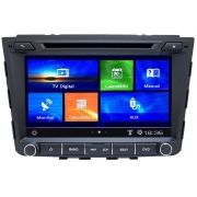 Central Multimidia Hyundai Creta Tela 8 polegadas - 5.0  Com DVD GPS Mapa Bluetooth MP3 USB Ipod SD Card Câmera de Ré Grátis
