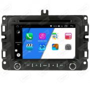 Central Multimidia FIAT Toro  Aikon - X-Droid 7 Polegadas  -  Espelhamento DVD GPS Mapa Bluetooth MP3 USB Ipod SD Card Câmera Ré + Frontal Grátis