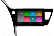 Central Multimidia Nissan Toyota COROLLA 2017/19-  Aikon ATOM X10 - Tela 10 pol - Waze Spotify - 2 cameras Ré + Frontal - TV  Digital - GPS Integrado -  Bluetooth - 2 entradas USB - Android 8.1