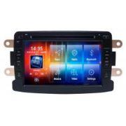 Central Multimidia Renault Captur Duster Aikon - 8.0 Tela 7 Polegadas + Camera de ré -  Espelhamento DVD GPS Mapa Bluetooth MP3 USB Ipod SD Card Câmera Ré Grátis