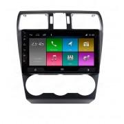 Central Multimidia Subaru Forester 2014 a 2019 - Aikon Atom Tela 9 Polegadas - GPS Bluetooth MP3 USB - Câmera de Ré - Sistema Android 10.0