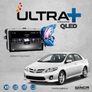 Central Multimidia Toyota Corolla 2009 a 2014  Winca ULTRA+ tela 9 polegadas QLED LCD SCREEN Processador Octacore 32Bg CarPlay, 2 Cameras Ré e Frontal, Waze, Youtube - Android 10.0