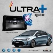 Central Multimidia Toyota Corolla 2020 a 2022 Winca ULTRA+ tela 10 polegadas QLED LCD SCREEN Processador Octacore 32Bg CarPlay, 2 Cameras Ré e Frontal, Waze, Youtube - Android 10.0