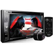DVD Player Automotivo 2 Din Pioneer AVH-X2880BT Tela 6,2 Polegadas Com Entrada USB, Entrada Auxiliar, Entrada TV Digital, MP3, TouchScreen e Conexão RGB Para GPS