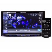 DVD Player Automotivo 2 Din Pioneer AVH-X598TV Tela 7 Polegadas Com TV Digital Bluetooth Entrada USB Mixtrax Entrada Auxiliar MP3 e TouchScreen