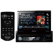 DVD Player Automotivo Retrátil Pioneer AVH-X 7880TV Tela 7 Polegadas Com TV Digital Bluetooth Entrada USB Entrada Auxiliar TouchScreen Mixtrax e MP3