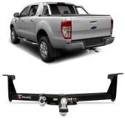 Engate para reboque Ford Ranger 2012 á 2018 - cabeça removivel - 700kg