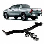 Engate para reboque Toyota Hilux 2006 a 2018 - Cabeça Removel - 800kg
