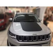 Envelopamento Capô Jeep Compass -  Preto Fosco