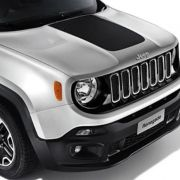 Envelopamento Capô Jeep Renegade -  Preto Fosco