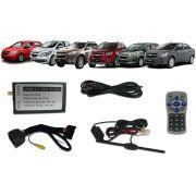 Interface Desbloqueio de Tela Chevrolet Onix Prisma Tracker Spin Cobalt S10 LT 2013 á 2015 - Caska + TV Digital