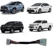 Interface Desbloqueio de Tela Toyota Hilux , Corolla Cross  2020 2021 2022 - XR XRE XRV XRX