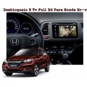 Interface Desbloqueio De Video Honda Hrv 2015 á 2020 + TV Digital FULL HD