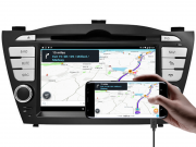 Interface Desbloqueio de Video IX35 2015 a 2019 + Espelhamento Waze Googlemaps sem fio - Faaftech